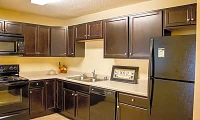 Kitchen, Ridgeview Apartments, 1