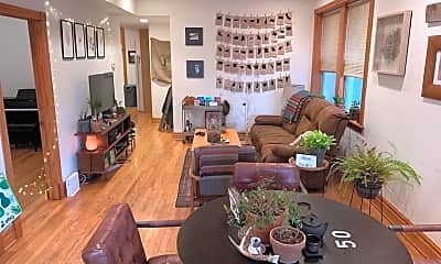 Living Room, 4539 N Albany Ave, 1