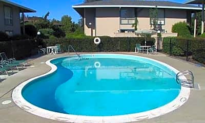 Pool, River Cove Apartments, 2