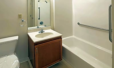 Bathroom, South Pointe Senior Apartments, 2