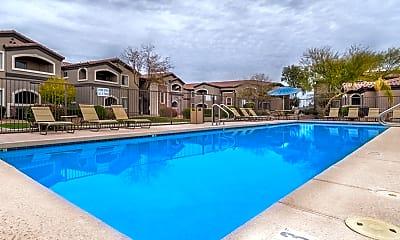 Pool, Desert Sands, 1