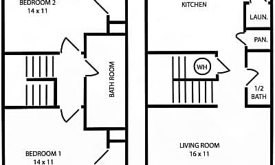 Building, 2619 Glenn Pl, 1