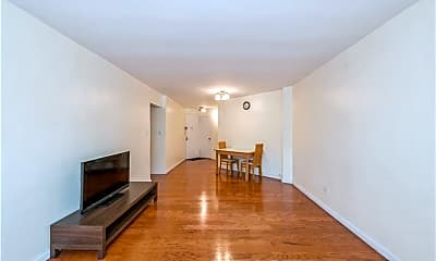 Living Room, 66-15 Thornton Pl 1D, 1