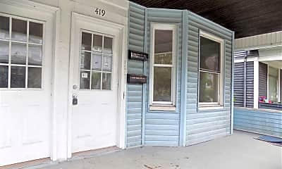 Patio / Deck, 419 Harrison Ave, 2