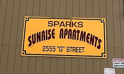 Building, 2555 G. St, 2