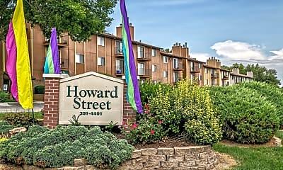 Community Signage, 7520 Howard St, 0