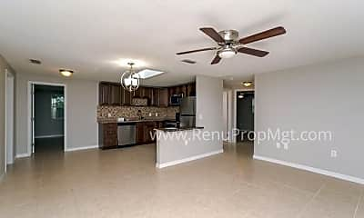 Living Room, 7602 Galahad Rd, 1
