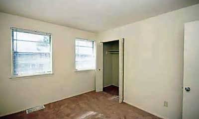 Bedroom, Hilton Village Townhomes, 2