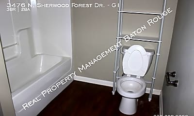 Bathroom, 3476 N Sherwood Forest Dr - G1, 2