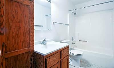 Bathroom, Belmont Apartments, 2