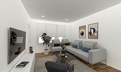 Living Room, 7 Price Road, Unit 5, 0