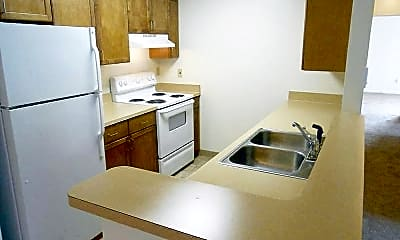 Kitchen, Philip C Dean Apartments, 1