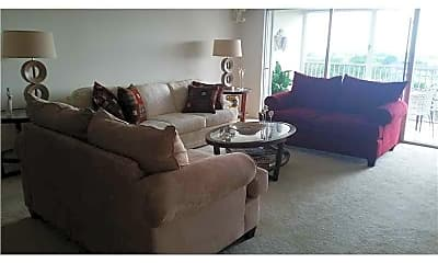 Living Room, 3150 N Palm Aire Dr 801, 0