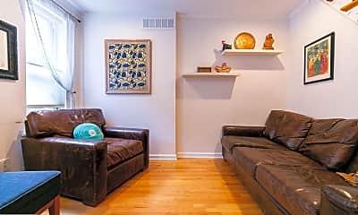 Living Room, 716 Clymer St, 1