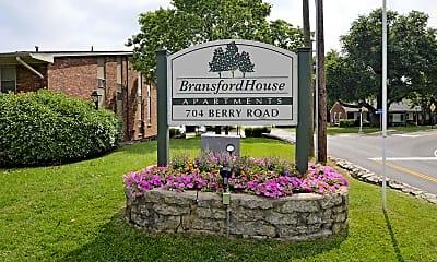 Community Signage, Bransford House, 2