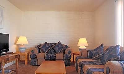 Living Room, Villa Del Telshor Apartments, 1