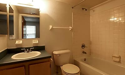 Bathroom, Greystone Apartments, 2