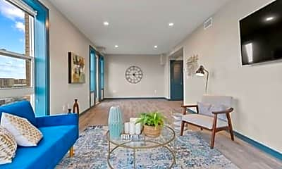 Living Room, 1258 Massachusetts Ave, 1