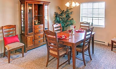 Dining Room, New Legacy Apartments, 1