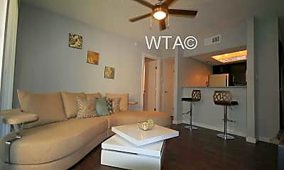Living Room, 3707 Menchaca, 0