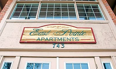 Community Signage, East Pointe Apartments, 0