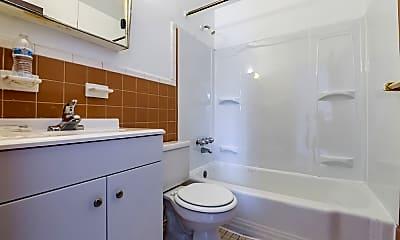 Bathroom, Jason Court Apartments, 2