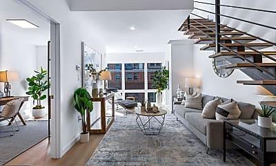 Living Room, 3817 Georgia Ave NW 2, 1