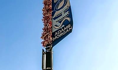 Community Signage, 1829 California St NW, 2