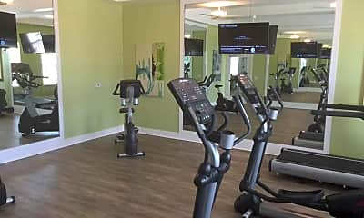 Fitness Weight Room, Clearlake Isles, 2