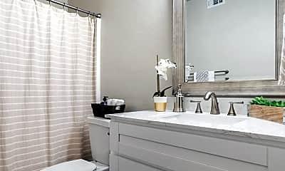 Bathroom, Blanco Oaks Apartments, 2