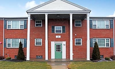 Building, Collegiate Village, 1