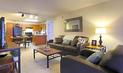 Living Room, University Oaks, 1