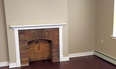 Living Room, 401 Delaware Avenue Apartments, 1