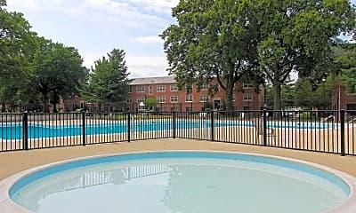 Pool, Mayfair Mansions III, 1