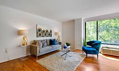 Living Room, 2501 Calvert St NW 312, 1