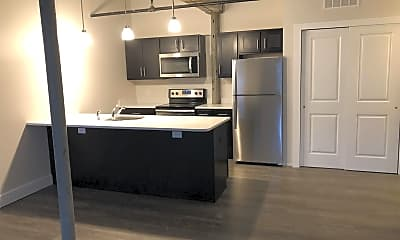 Kitchen, 24 Amity St, 1