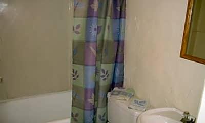 Bathroom, Milverton Apartments, 2