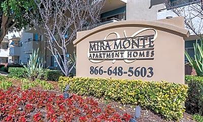 Community Signage, Mira Monte Apartment Homes, 1