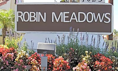Community Signage, Robin Meadows - Orange, 2