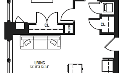 Kitchen, 115 N Charles St, 1
