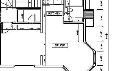 Kitchen, 116 Brooks St, 1