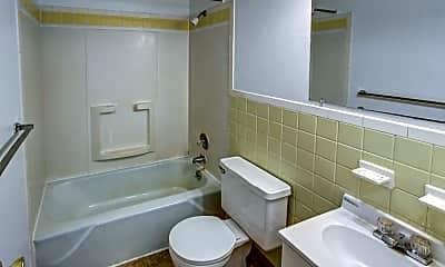 Bathroom, Club House Apartments, 2