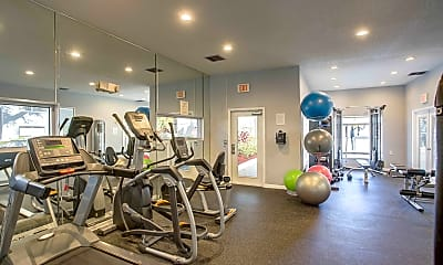 Fitness Weight Room, Royal Isles, 2