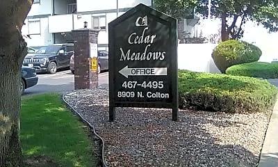 Cedar Meadows, 1