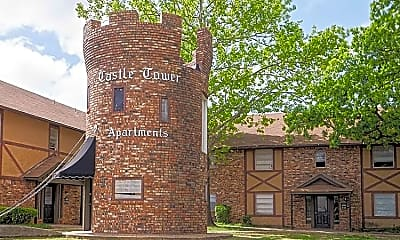 Community Signage, Castle Tower, 1