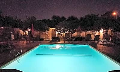 Pool, Meadowbrook Apartments, 2
