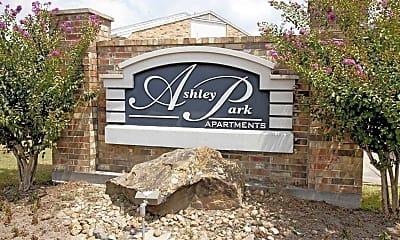 Community Signage, Ashley Park Apartments, 2