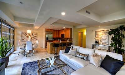 Living Room, 7161 E Rancho Vista Dr 2007, 1