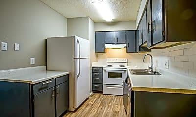 Kitchen, Aero Apartments, 0