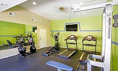 Fitness Weight Room, Emerald Ridge, 1